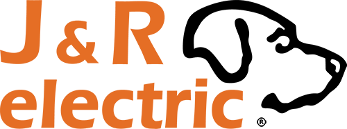 J&R Electric Colorado Denver Electrical Contractors Lighting Logo